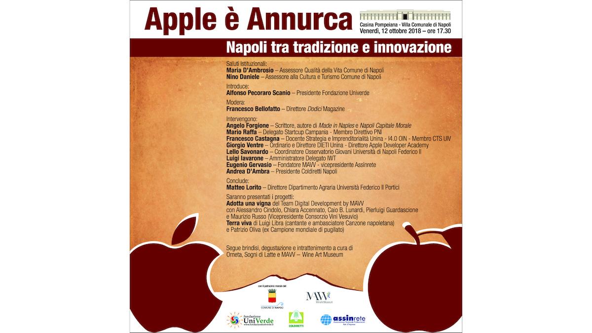 Locandina Apple è Annurca – MAVV (12-10-2018)